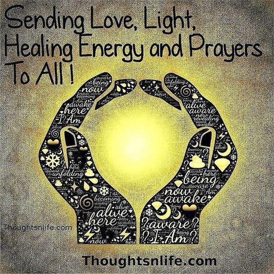 Sending Love And Light Meaning Healing Prayers Memes Sending Love And Light Love And Light Energy Healing