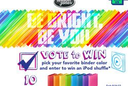 Wilson Jones – Win 1 of 10 iPod Shuffles!