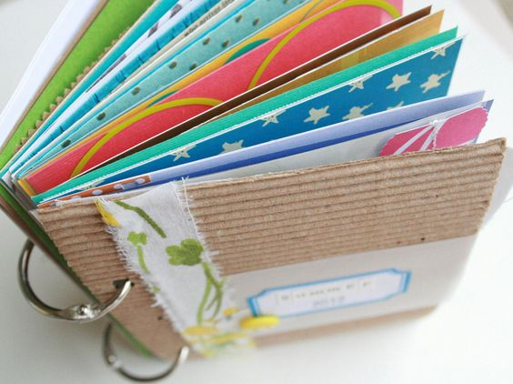 Summer 2012 Journal Kit by CreativePlace on Etsy
