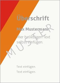 Muster Zertifikat, Diplom, Urkunde Rahmen, Streifen Diagonale Streifen, Rot