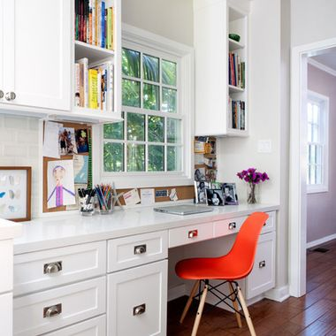 Kitchen Desk With Window Design Ideas, Pictures, Remodel, and Decor - page 4