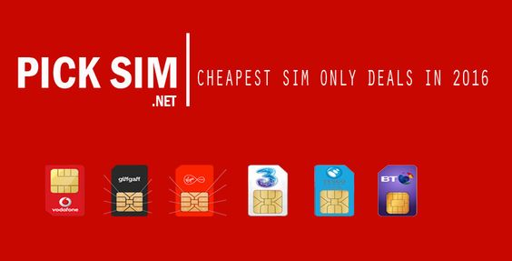List of the best cheapest SIM only deals in 2016 to choose from, with 7 networks deals you can have the best SIM deal ever.