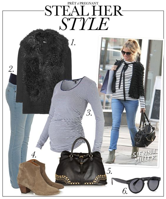 Steal her Style: pregnant Sienna Miller