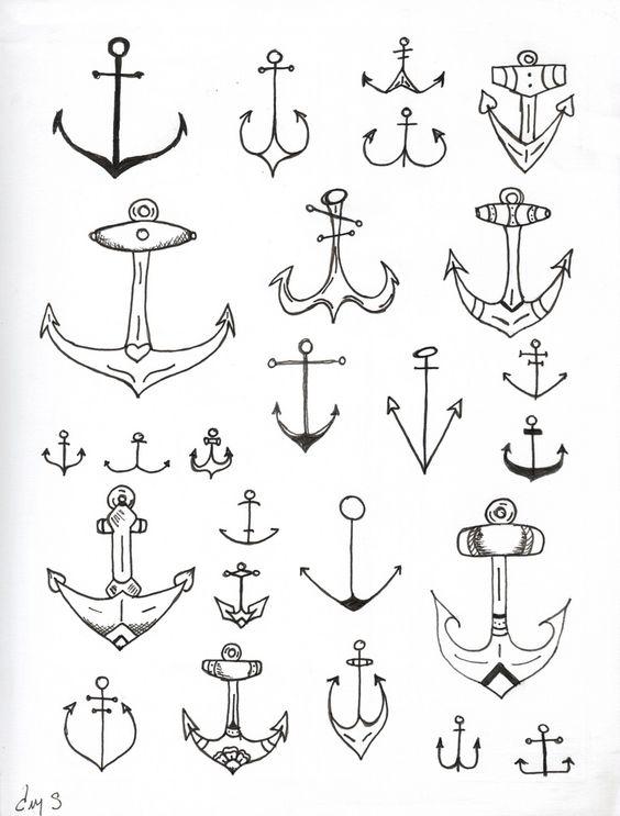 piraten anker t towierungen and anker on pinterest. Black Bedroom Furniture Sets. Home Design Ideas