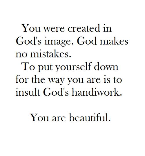 You are beautiful.: Remember This, You Are Beautiful, You'Re Beautiful, So True, God Made You, Bible Verses, God S Image, You Re Beautiful, God S Handiwork