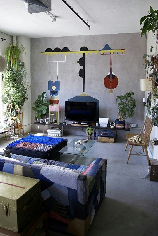 Minimal furniture.  Carpet instead.