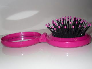 A small hair brush for in your bag or in your locker