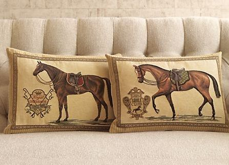 equestrian inspired decor