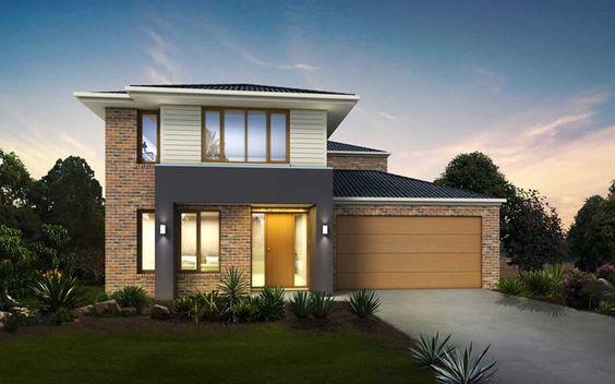 Metricon home designs the alto traditional facade for Home designs victoria