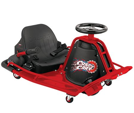 Coolest toy for kids razor crazy cart drift and drive Cool motorized toys