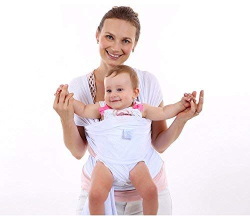 Clothink Baby Wrap Carrier for Newborn Infant Toddler WaterProof Sling Breathable Baby Holder