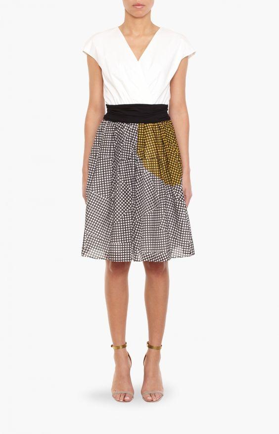 Black Multi Check Dress - Dresses - Clothing | ANITA HASS | DESIGNER FASHION | HAMBURG