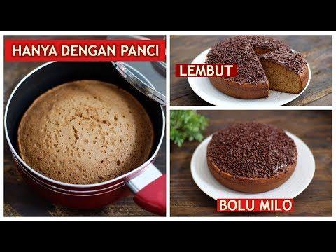 Olahan Milo Dan Cara Membuat Bolu Milo Ii Resep Mudah Dengan Takaran Sendok Ii Menggunakan Panci Youtube Resep Selai Coklat Panci