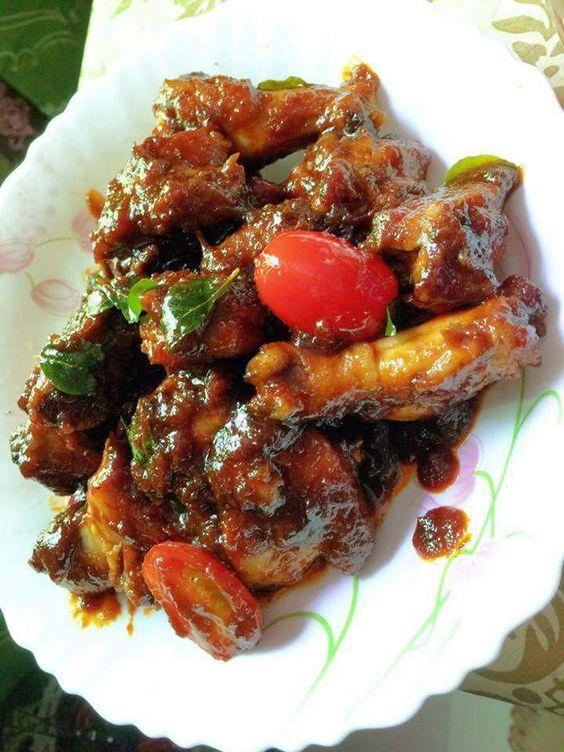 Ayam Masak Masala Versi Mudah Rasa Food Masala Malaysian Food