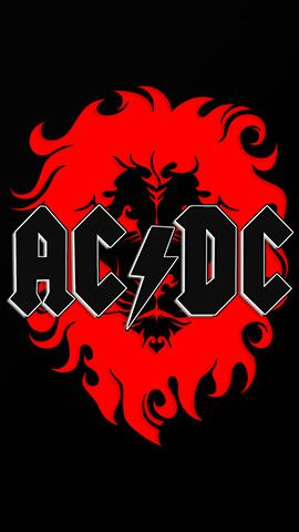 Acdc Lion Rock Band Posters Acdc Wallpaper Band Posters