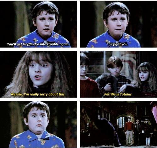 4 June 1992 Neville I M Really Really Sorry About This Petrificus Totalus Harry Potter Illustrations Harry Potter Quotes Funny Harry Potter Characters