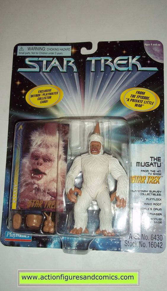 Star Trek MUGATU classic series playmates toys action ...