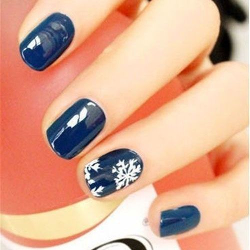 Christmas Nail Art Designs - 47 Christmas Nail Art Designs to Inspire You! Find them all right here -> http://www.nailmypolish.com/christmas-nail-art-designs/: