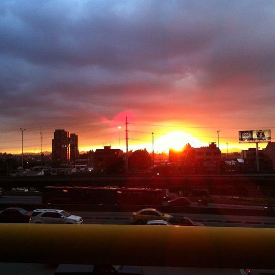 Sunset in Bogota #Unfiltered -   Atardecer en Bogotá #SinFiltro  Photo by AdryLicht • Instagram