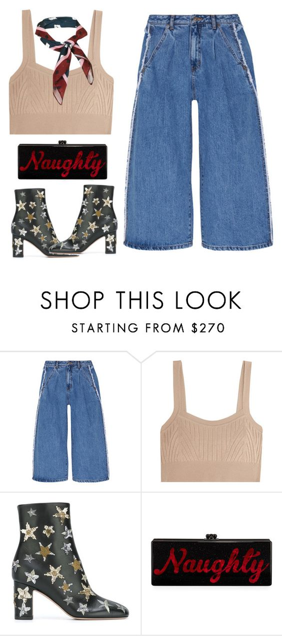 """""""Gearing for 2017"""" by xoxomuty on Polyvore featuring Steve J & Yoni P, Jil Sander, Valentino, Edie Parker, Topshop and polyvoreOOTD"""