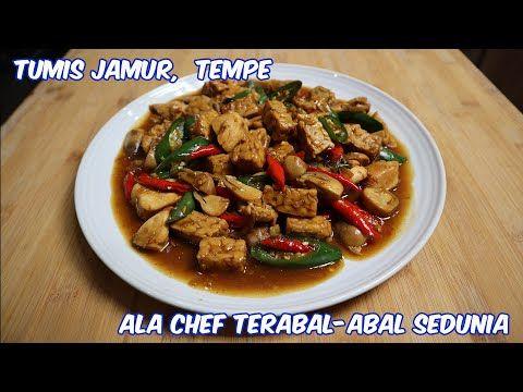 Tumis Jamur Tempe Cabe Hijau Nyus Merkunyus Maknyus Food Recipes Indonesian Food