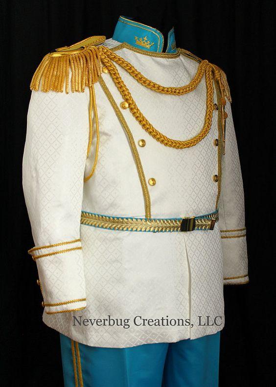Disfraz de príncipe de la Cenicienta por NeverbugCreations en Etsy