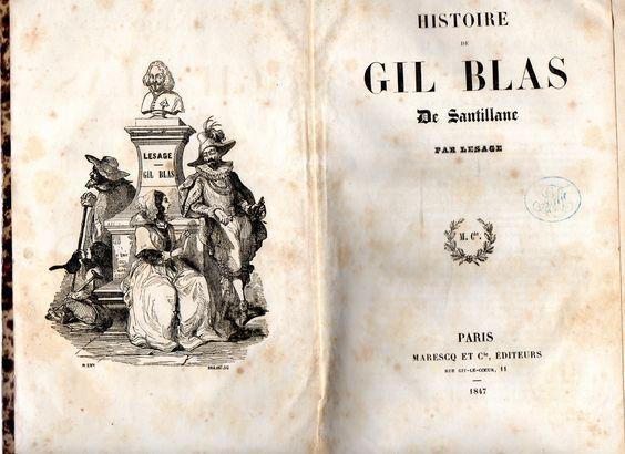Histoire de Gil Blas de Santillane | VITALIVROS