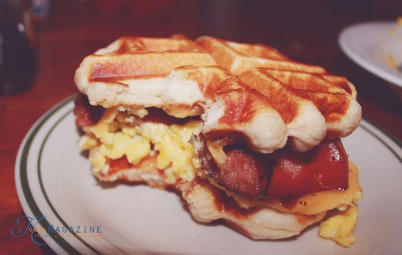 The Waffle Breakfast Sandwich your kids will beg you for - KoKoa Magazine
