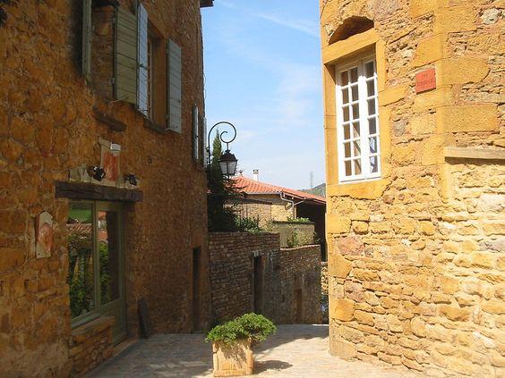 Oingt, France
