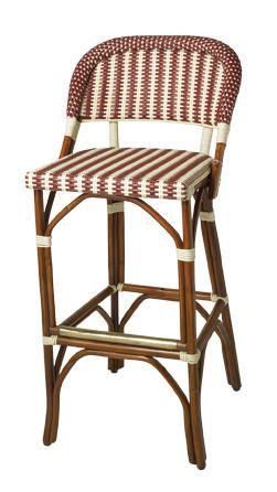 Island stools-- in light blue!!! bistro counter stools, oh la la!