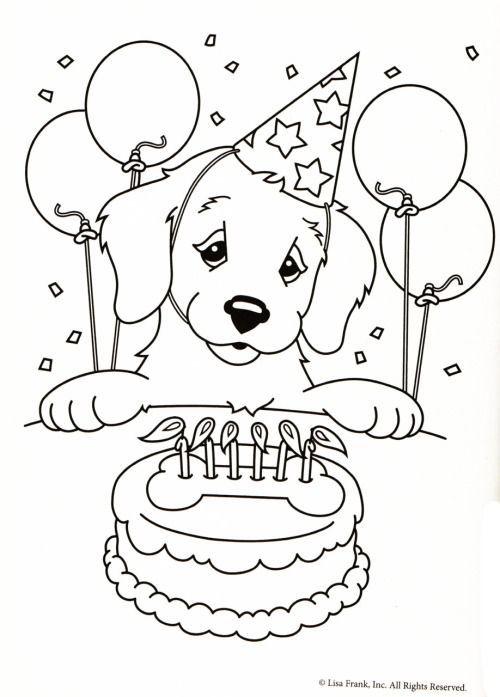 Kleurplaat Hond Verjaardagstaart Adult Coloring Pages More Pins Like This At Fosterginger Pinterest Kleurplaten Kinderkleurplaten Dieren Kleurplaten