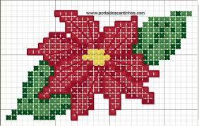 Resultado de imagem para grafico de natal baby em ponto cruz