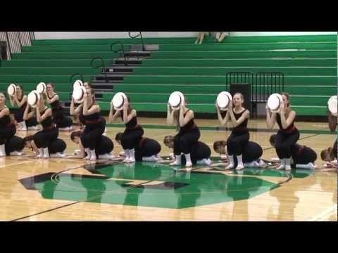 Bountiful High School Drill Team Dance Routine 2012-2013 - YouTube