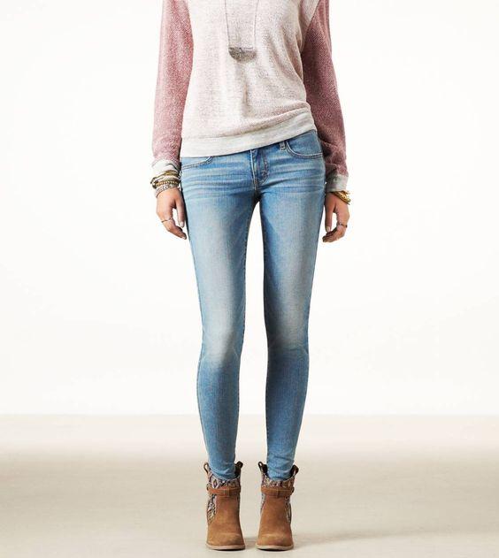 Bright Light Jeans  - Size 8 LONG $29.96