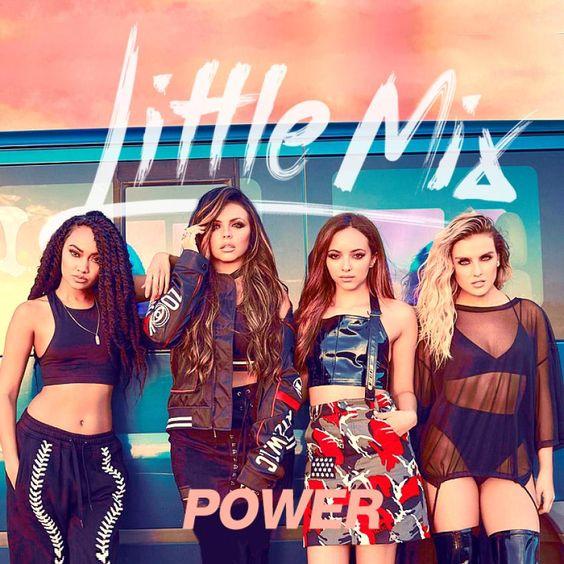 Little Mix – Power (single cover art)