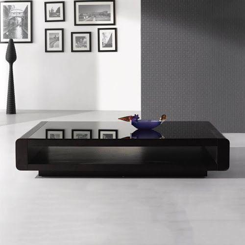 Google Express J M Furniture 673 Modern Coffee Table Dark Oak