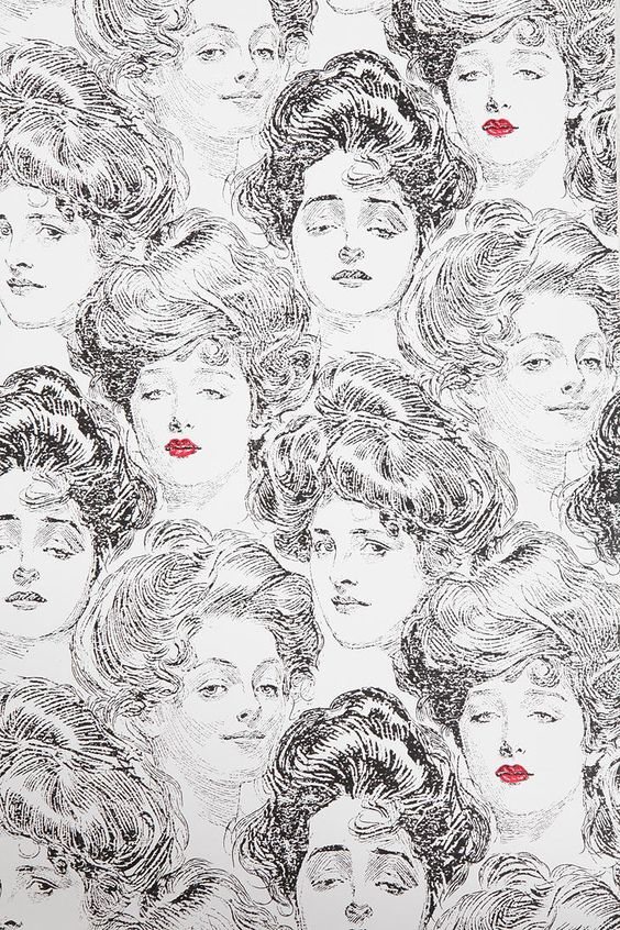 gibson girl wallpaper