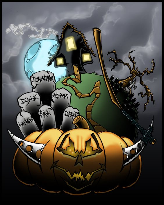 Halloween Poster Collab by PsychoSlaughterman Halloween - halloween poster ideas