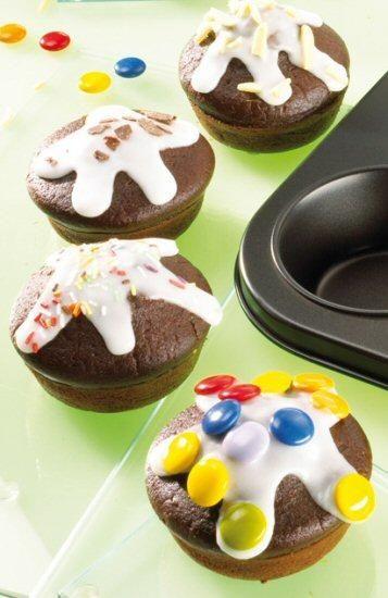 Schoko-Nuss-Muffins Rezept   Dr. Oetker