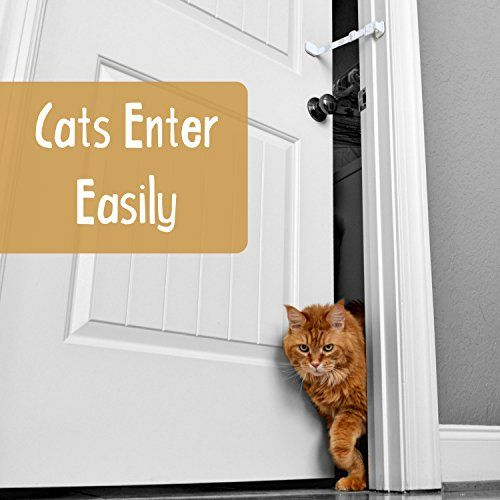 Door Buddy Child Door Lock And Foam Baby Door Stopper Baby Proofing Doors Made Simple With Easy To Use Hook And Latch Keep Baby Out Prevent Finger Pinch Injuries And Allow Cats