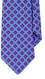 Ted Baker Men's Diamond-Pattern Jacquard Necktie-Blue
