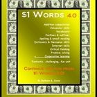 There is even more fun in 1 Dollar Words 4.0! Better yet, you get twice as many clues.  $