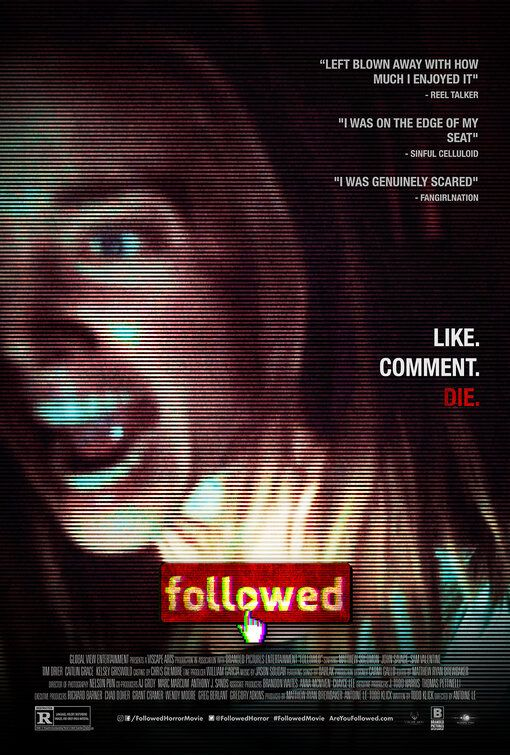 Followed 2020 Go To Movies Movie Posters Design Movie Posters