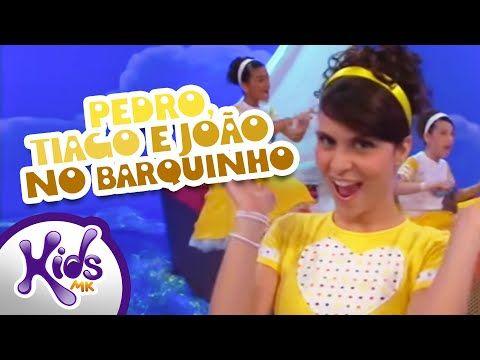 Pedro Tiago E Joao No Barquinho Aline Barros E Cia 2 Youtube