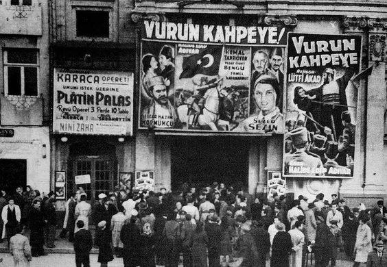 Taksim sineması 1949