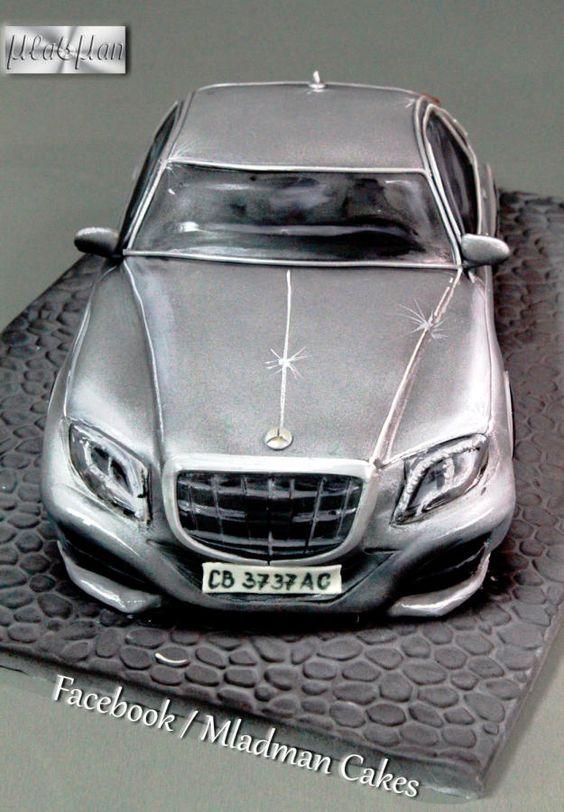 Mercedes s500 2014 by mladman cakes cake decorating for Mercedes benz dealership flemington nj