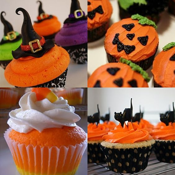 Pop Culture And Fashion Magic: Easy Halloween food ideas - desserts: Ideas Desserts, Halloween Recipe, Cupcakes Halloweentreats, Cakes Cupcakes, Holiday Food, Halloween Cupcakes, Halloween Food