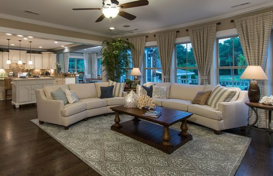 Large Open And Connected Living And Dining Space Is One Life Tested Design That Pulte Proudly