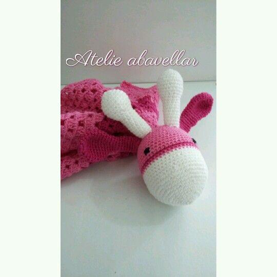 Naninha em croche para bebe soninho bom...