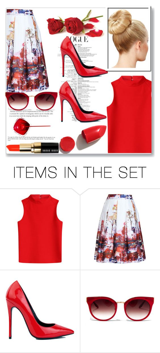 """Glitz and Cherry Bombs"" by puppyloverbff ❤ liked on Polyvore featuring art"